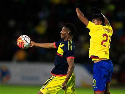 Colombia vs. Ecuador Sub-20/ Galería
