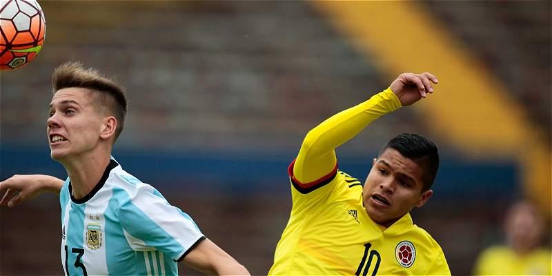 Reviva el minuto a minuto de la derrota de Colombia 2-1 con Argentina
