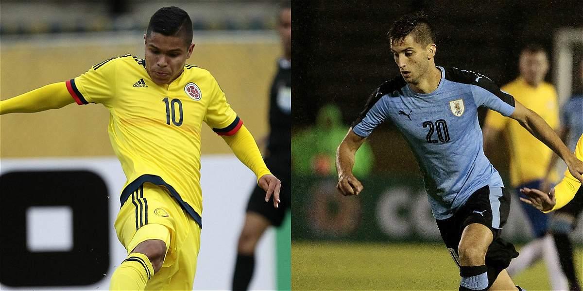 Colombia Contra Uruguay En El Sudamericano Sub-20