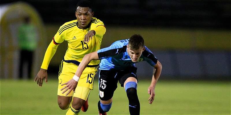 Uruguay goleó y desnudó carencias de Colombia en Suramericano Sub 20