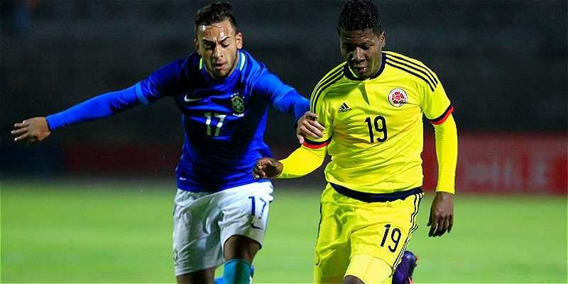 Colombia Sub-20, por el honor en el Suramericano: enfrenta a Brasil