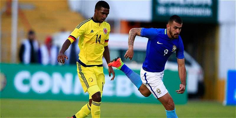 Colombia despidió el Torneo Sub-20 eliminando a Brasil: empate 0-0