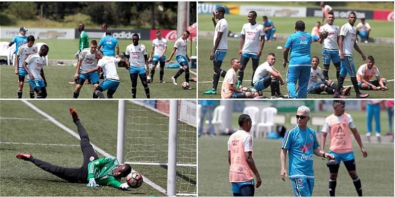 En fotos: así se prepara la Selección Sub-17 para el Suramericano