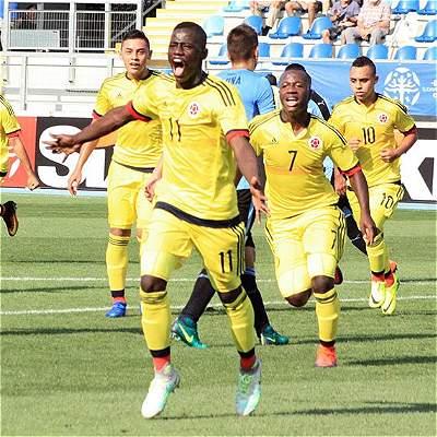 La Selección Colombia Sub 17 venció a Uruguay 3-1