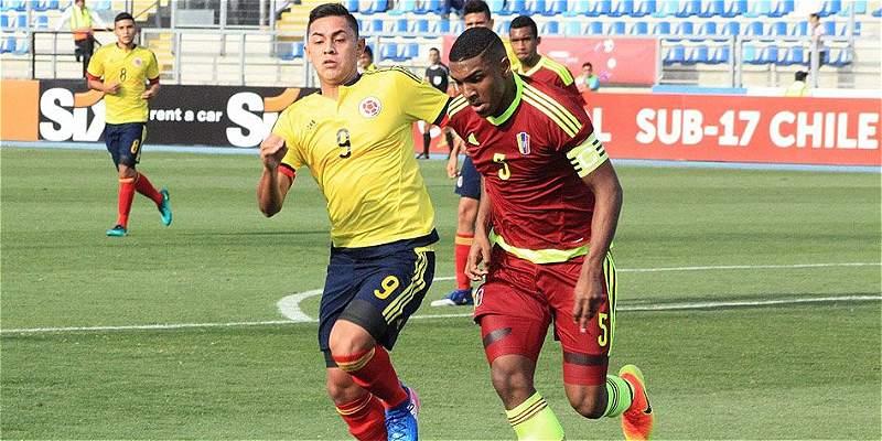 Colombia igualó 0-0 con Venezuela