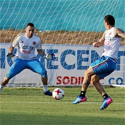 En fotos: primer entrenamiento de Selección Colombia en Barranquilla