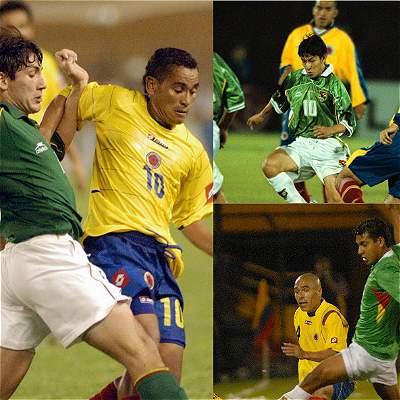 Colombia contra Bolivia en Eliminatorias