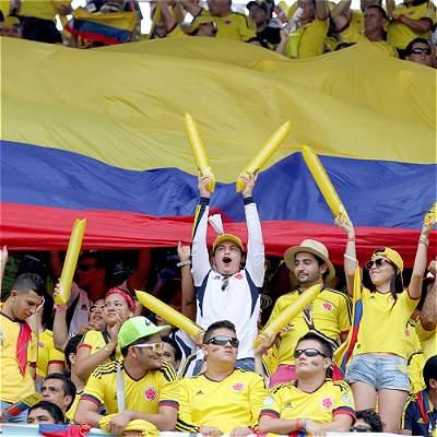 En imágenes: así se vivió el último Colombia-Bolivia, en Barranquilla