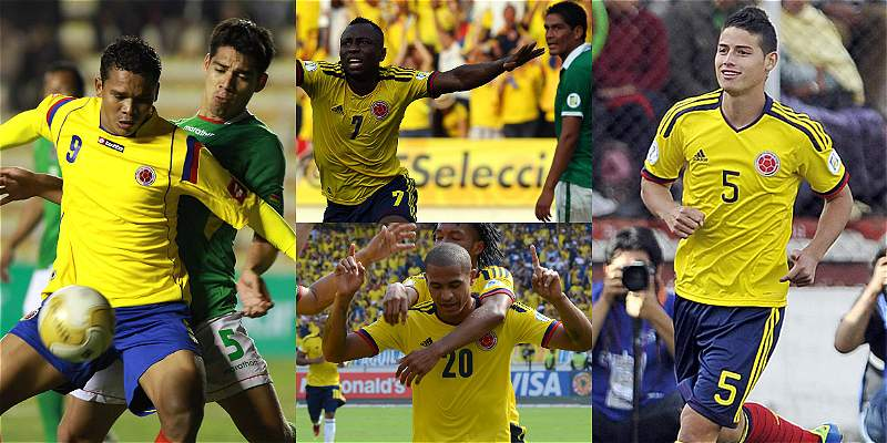 Recuerdos Colombia Bolivia Eliminatorias