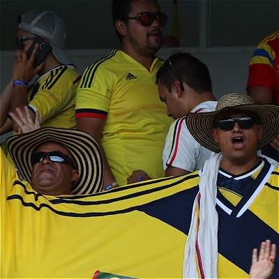 Así se vivió el Colombia vs. Bolivia en las tribunas del Metropolitano