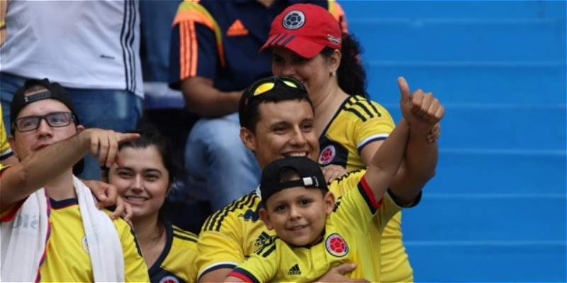 La Selección Colombia, en los ojos de sus más fervientes hinchas