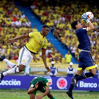 Las mejores fotos del partido entre Colombia y Bolivia, en el Metropolitano