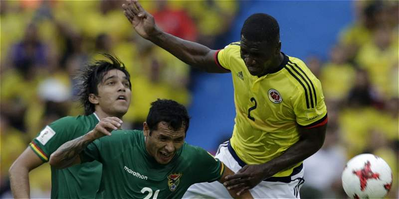 Cristian Zapata regresó con solidez a la Selección Colombia