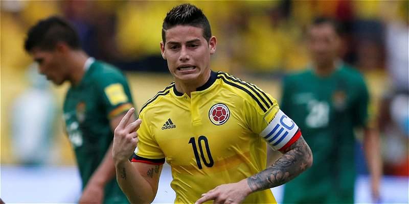 Sufriendo más de la cuenta, Colombia le ganó 1-0 a Bolivia