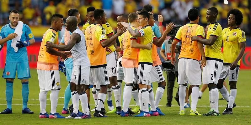 Uno a uno Selección Colombia
