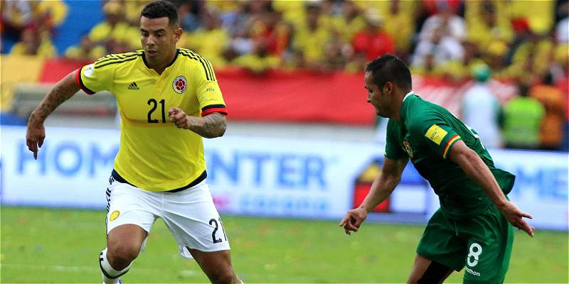 Edwin Cardona Colombia Bolivia Eliminatoria Rusia 2018