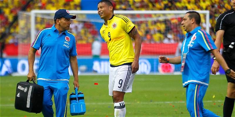Luis Fernando Muriel lesión