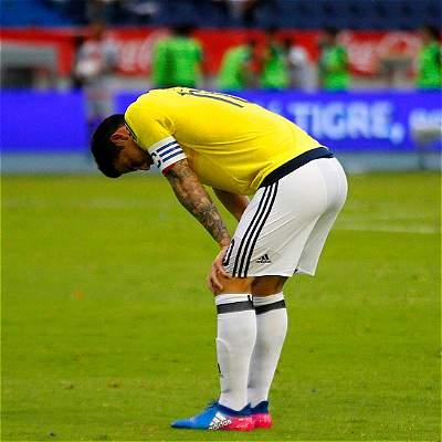 James Rodríguez post Ecuador