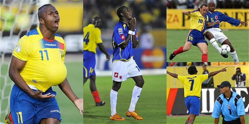 Colombia contra Ecuador
