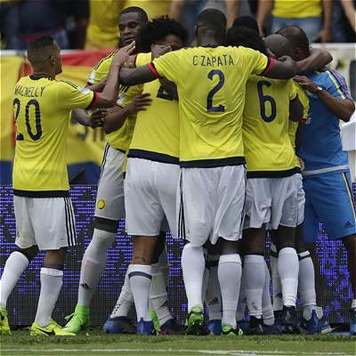 Buen pálpito: la última víctima de delanteros colombianos fue Ecuador