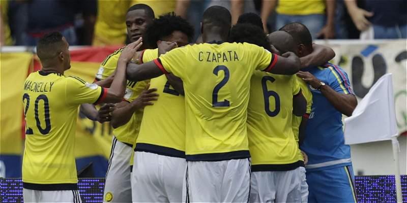 Colombia gol Ecuador