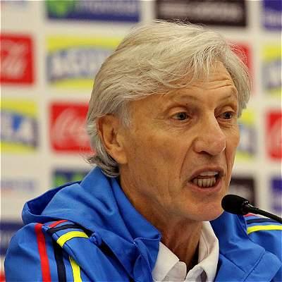 'Solo pensamos en jugar y obtener un buen resultado': José Pékerman