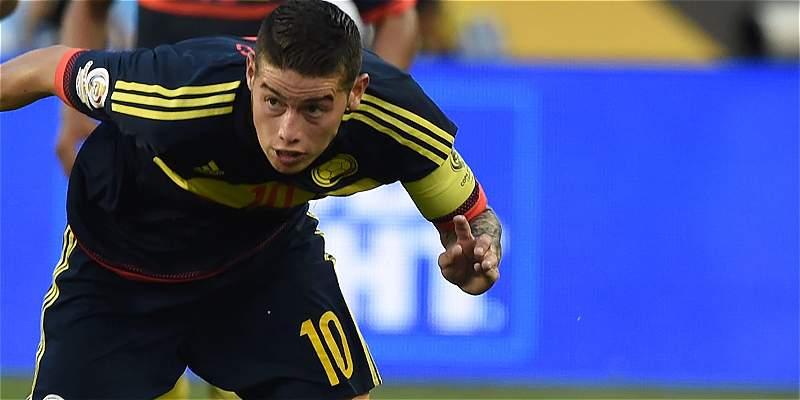 James Rodríguez marcó el gol 100 de la era Pékerman en la Selección