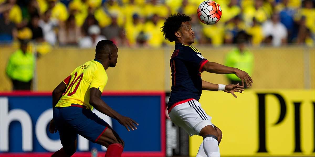 Análisis primer tiempo partido Ecuador vs. Colombia