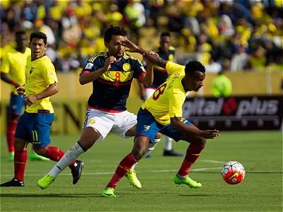 Ecuador vs. Colombia/Galería