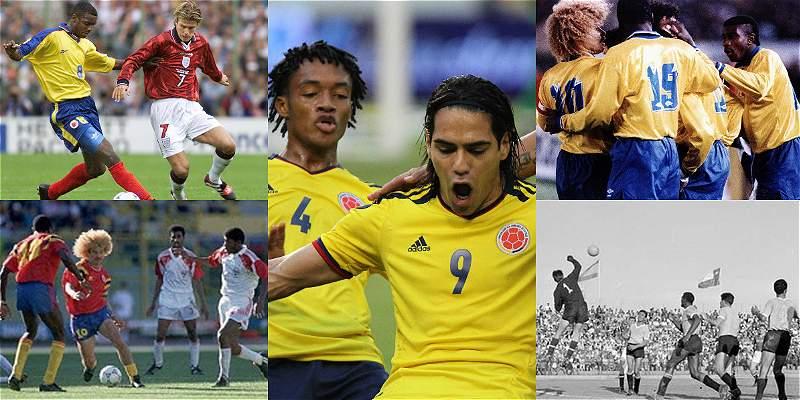 Colombia nunca clasificó a un Mundial con toda la Conmebol compitiendo