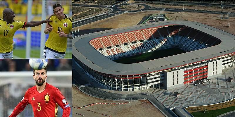 España Colombia se jugará en Murcia