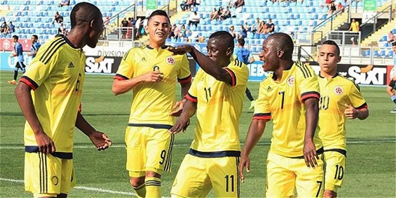 Selección Colombia Sub-17 inició su preparación para el Mundial