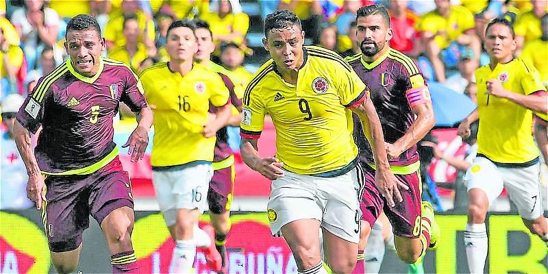 Venezuela vs. Colombia sede