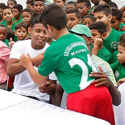 'Colombia está mostrando el fútbol de la Eliminatoria pasada': Muriel
