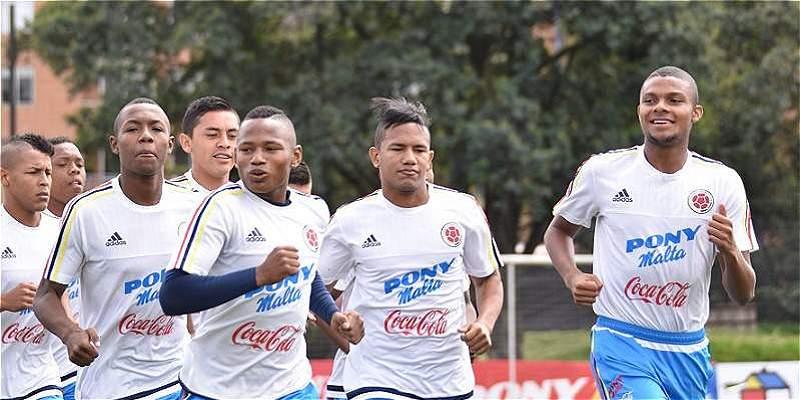 Selección Colombia Sub 17 cerró el amistoso en México con un empate