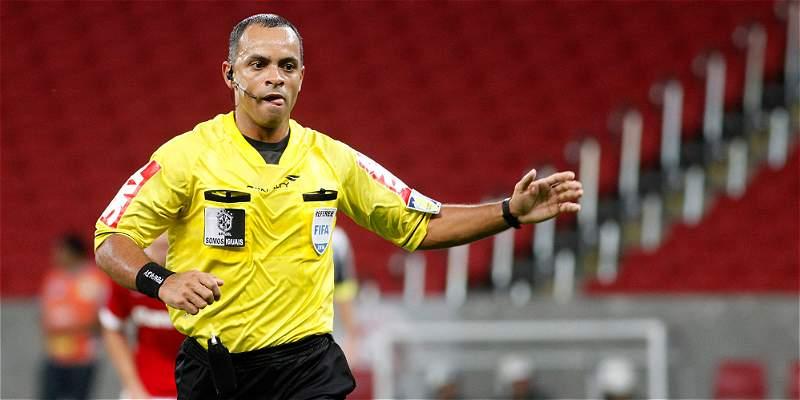 Wilson Sampaio será el árbitro para el duelo Venezuela vs. Colombia