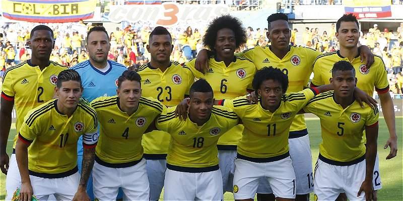 Colombia mantuvo el octavo lugar del escalafón Fifa, Brasil es primera