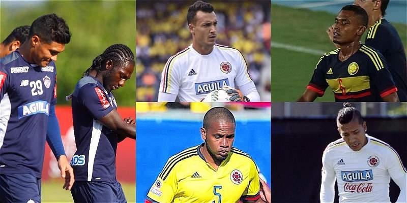Selección Colombia de jugadores de la Liga Águila II 2017