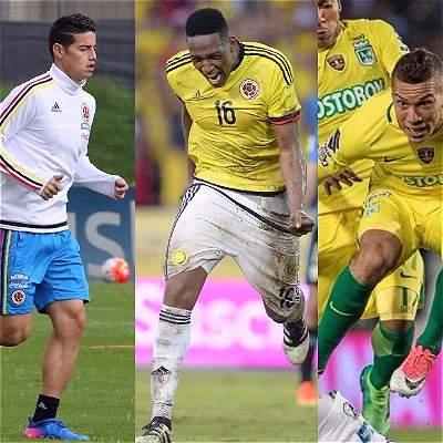 Jugadores de Selección Colombia