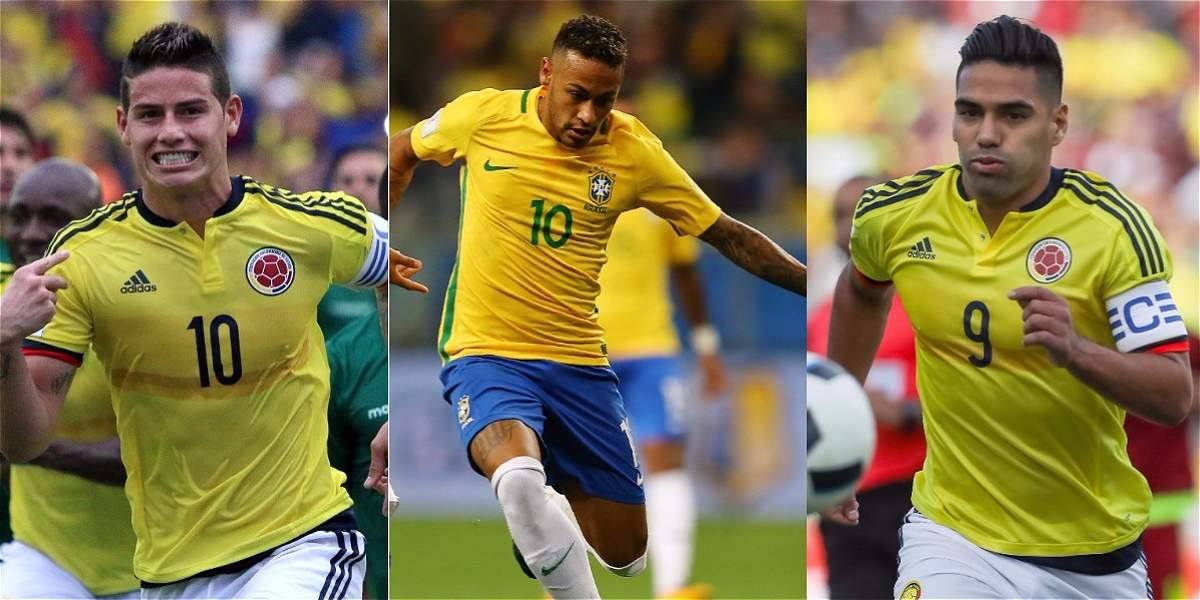 Ni el 11 titular de Colombia llega al valor de Neymar, 222 millones