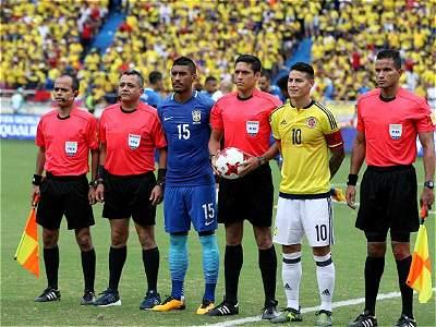 Colombia vs. Brasil/GALERÍA
