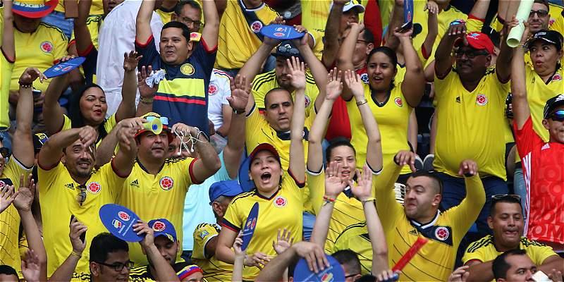 Boletas Colombia vs. Paraguay