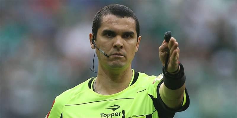 Ricardo Marques será el árbitro que pitará el Colombia vs. Paraguay