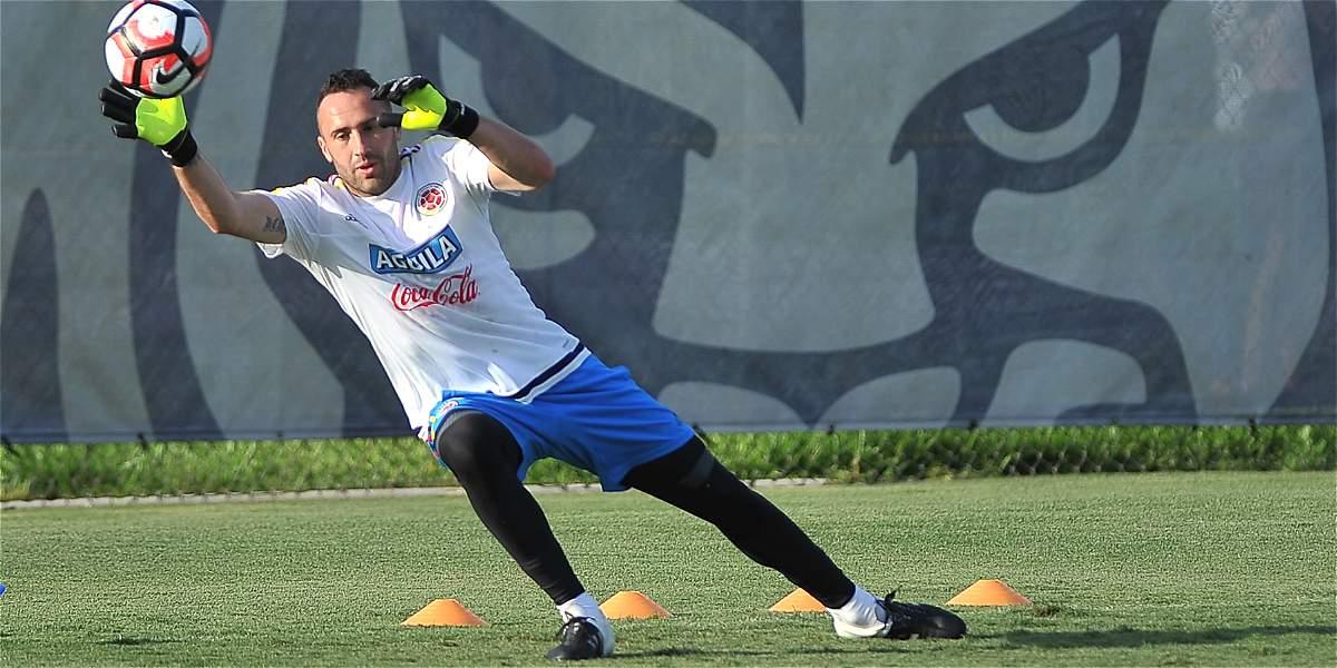 'Estamos concentrados en el juego y conseguir el gran triunfo': Ospina
