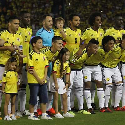 Las mejores fotos del partido entre Colombia y Paraguay, por Eliminatorias