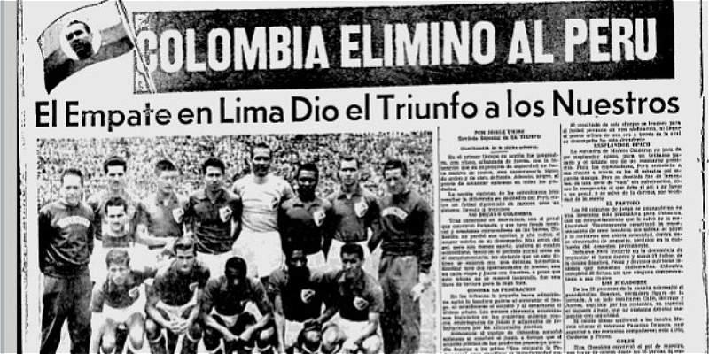 Colombia clasificó a un Mundial jugando en Perú