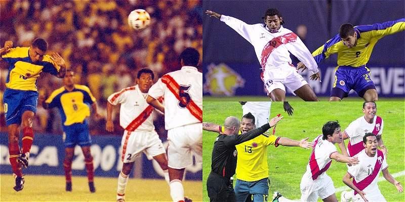 Colombia vs. Perú: los tres últimos duelos que fueron definitivos