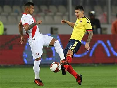 Perú vs. Colombia/Galería