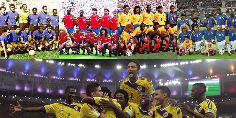 Esta ha sido la historia de la Selección Colombia en los Mundiales