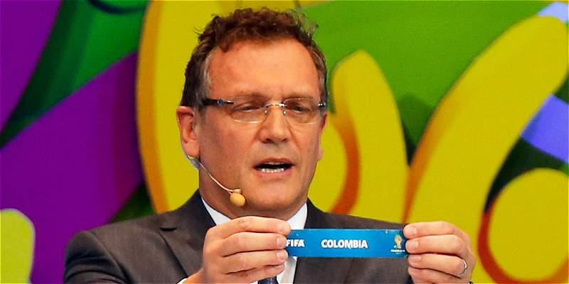 Sorteo Colombia 2018